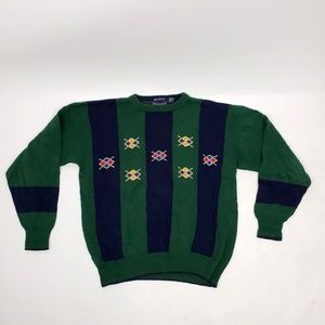 HATHAWAY Green Sweater - Large